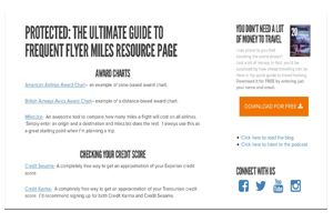 The Ultimate Resource Page For Frequent Flyers