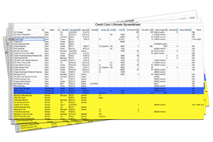 Frequent Flyer Spreadsheet