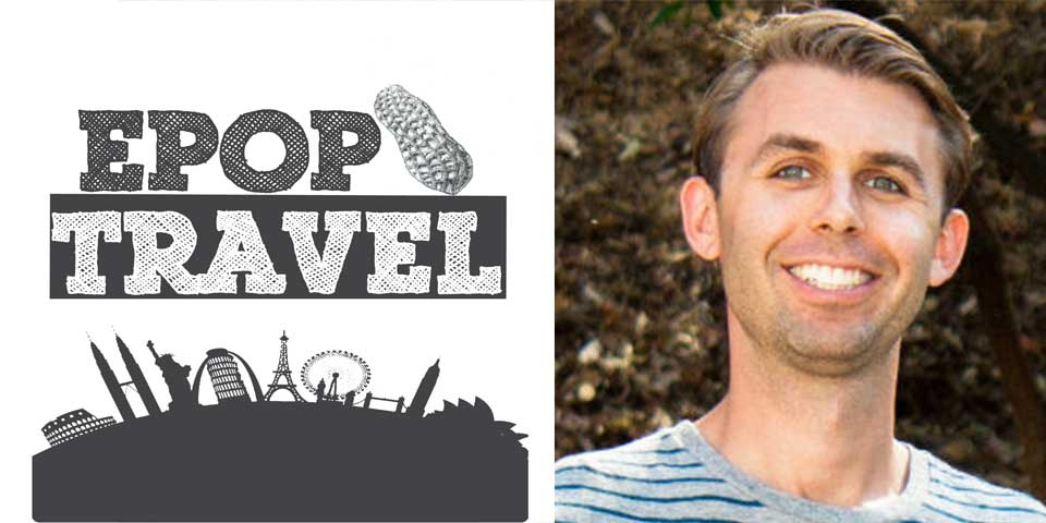 EPoP 022:  The Secrets to Packing in Just a Carry-on with Fred Perrotta