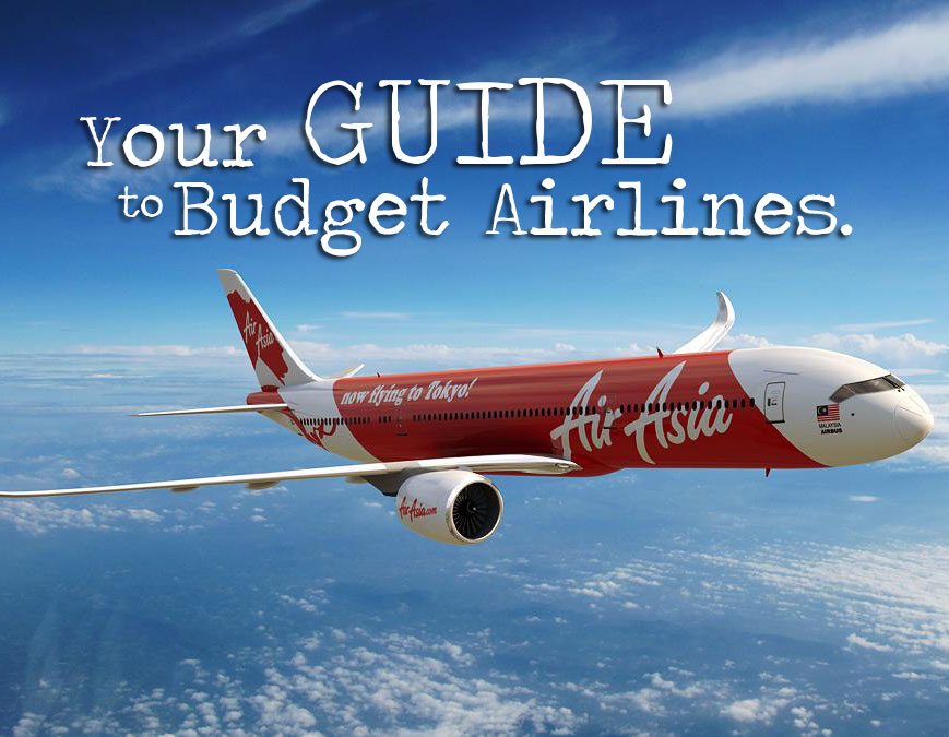 A Step by Step Guide to Using Budget Airlines and Saving Money