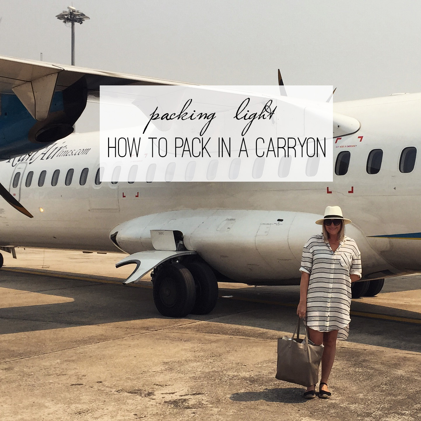 Women's Packing List: How to Pack in Only a Carry-on