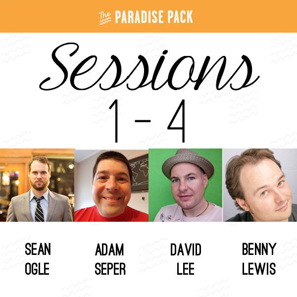 The Paradise Pack Sessions 1-4