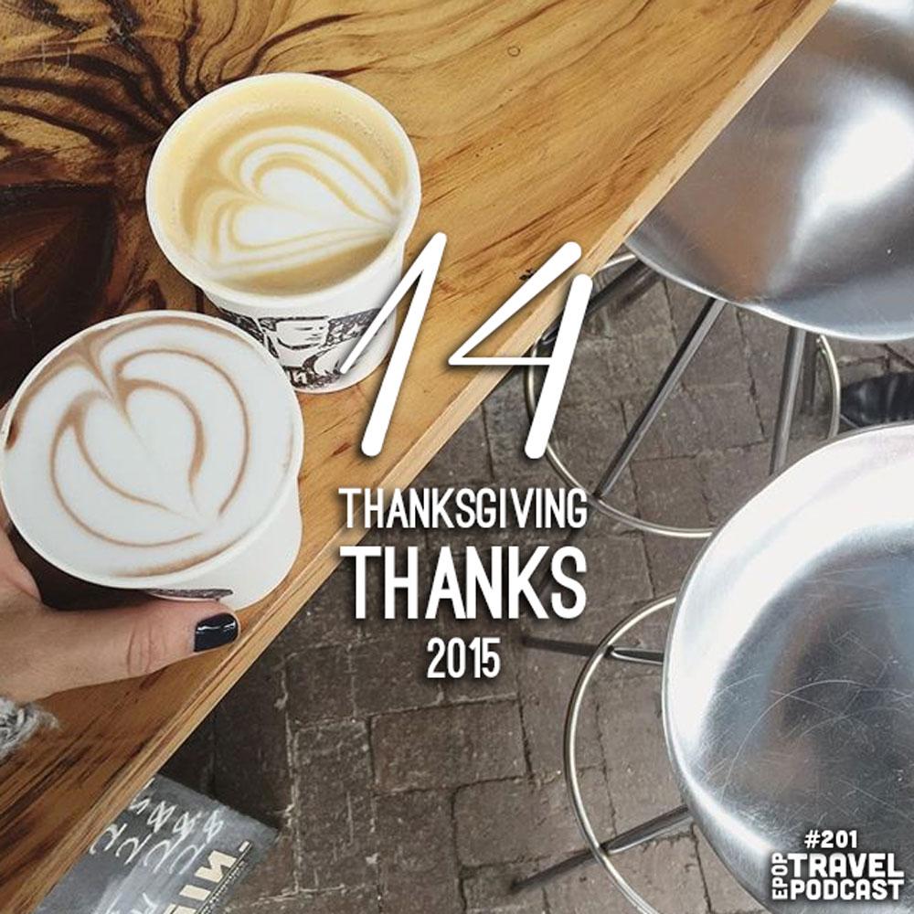 14 Thanksgiving Thanks, 2015