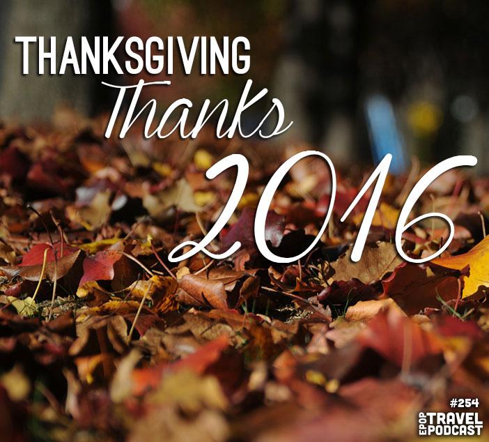 Thanksgiving Thanks 2016