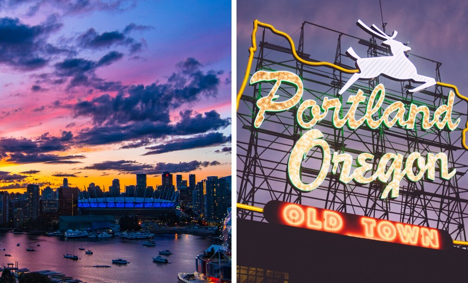 Portland, OR vs Vancouver, BC