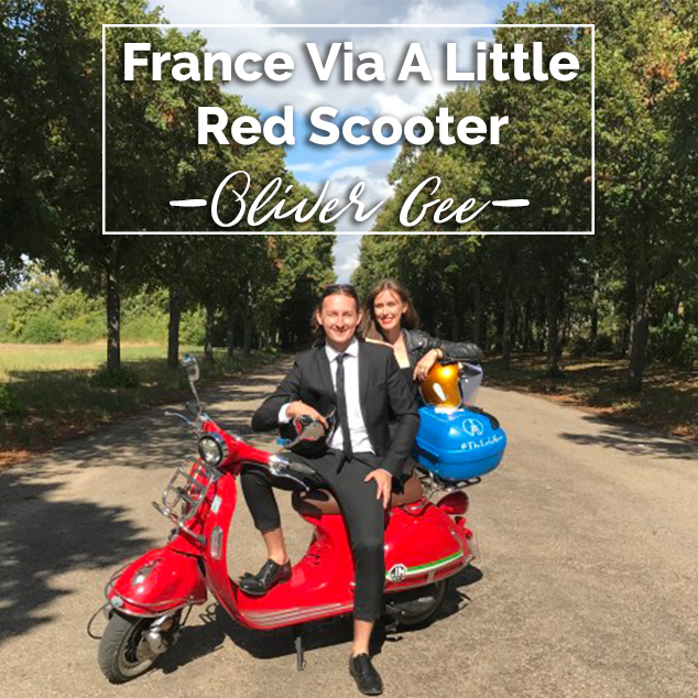 Extra Pack of Peanuts Podcast 345: France Via A Little Red Scooter w/ Oliver Gee