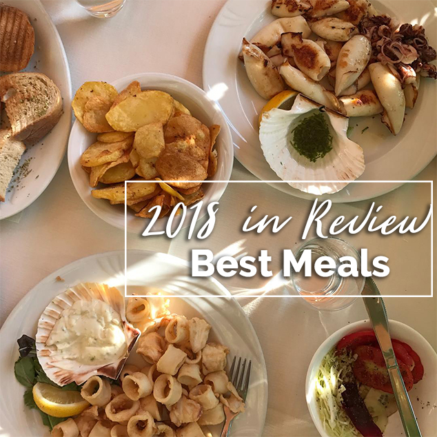 Best Meals: 2018 in Review