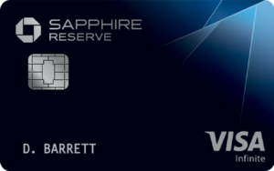 Chase Sapphire Reserve card image