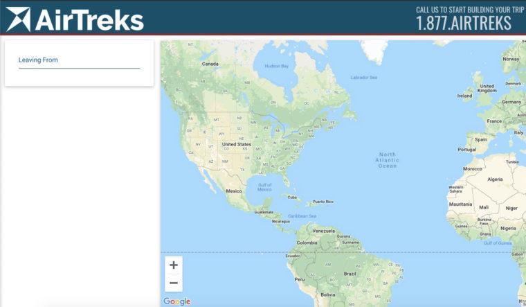 AirTreks Trip Planner