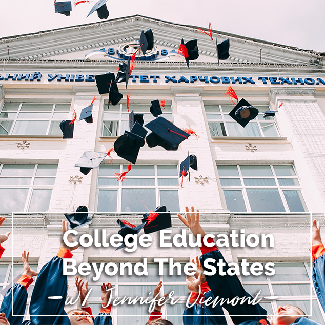 Extra Pack Of Peanuts Podcast 380: College Education Beyond The States w/ Jennifer Viemont