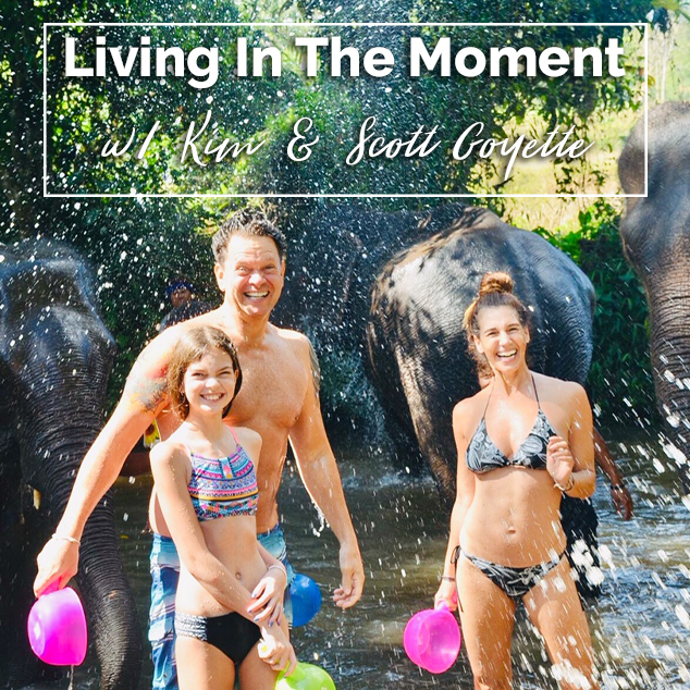 Extra Pack of Peanuts Podcast Living In The Moment w/ Kim & Scott Goyette