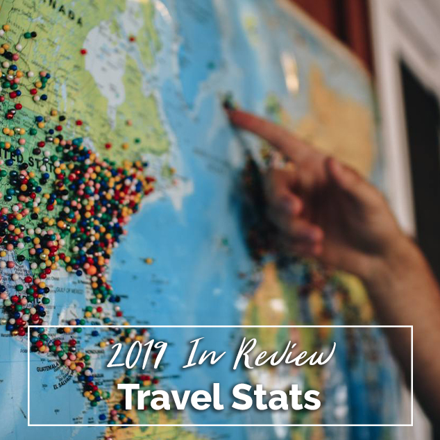 Extra Pack of Peanuts Podcast Travel Stats: 2019 In Review