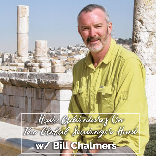 Extra Pack of Peanuts Podcast Have Adventures On The Global Scavenger Hunt w/ Bill Chalmers