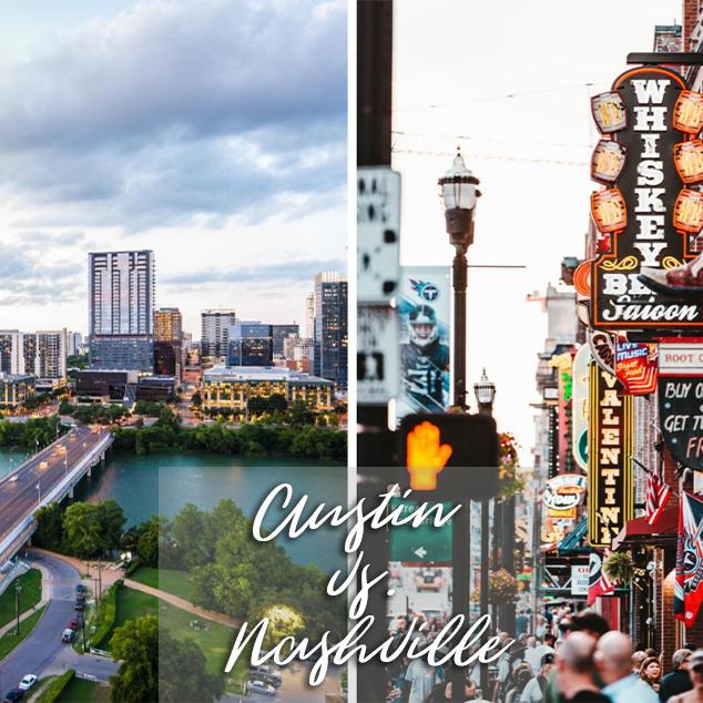 Austin vs. Nashville