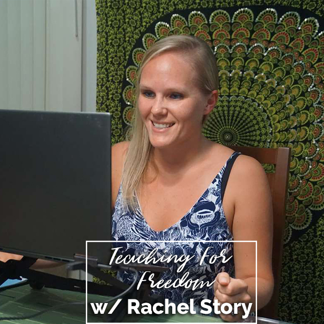 Extra Pack of Peanuts Podcast Teaching For Freedom w/ Rachel Story