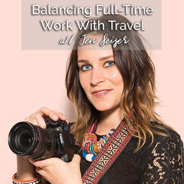 Extra Pack of Peanuts Podcast Balancing Full-Time Work With Travel w/ Jen Seiser
