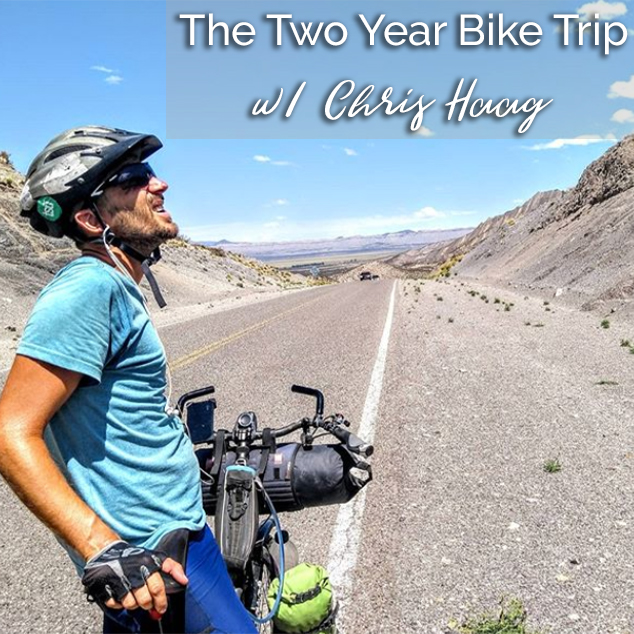 Extra pack of Peanuts Podcast The Two Year Bike Trip w/ Chris Haag