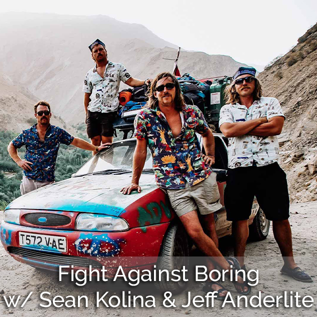 Extra Pack of Peanuts Podcast Fight Against Boring w/ Sean Kolina & Jeff Anderlite
