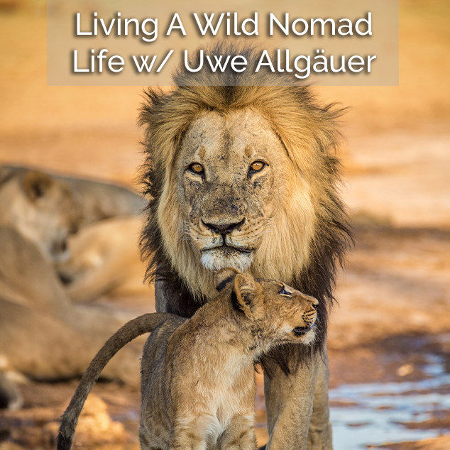 Extra Pack of Peanuts podcastLiving A Wild Nomad Life w: Uwe Allgäuer