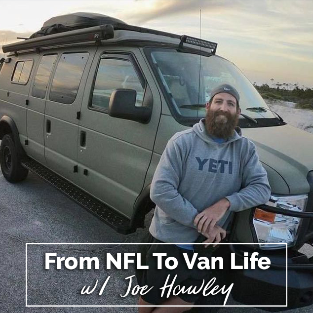 Extra Pack of Peanuts Podcast From NFL To Van Life w/ Joe Hawley