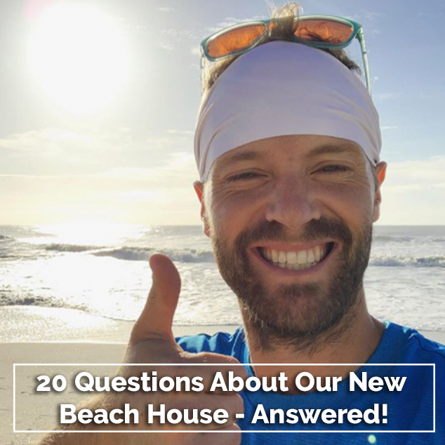 Extra Pack of Peanuts Podcast 20 Questions About Our New Beach House - Answered!