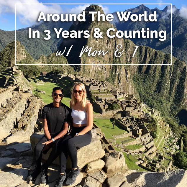 Extra Pack of Peanuts Podcast Around The World In 3 Years & Counting w: Mon & T