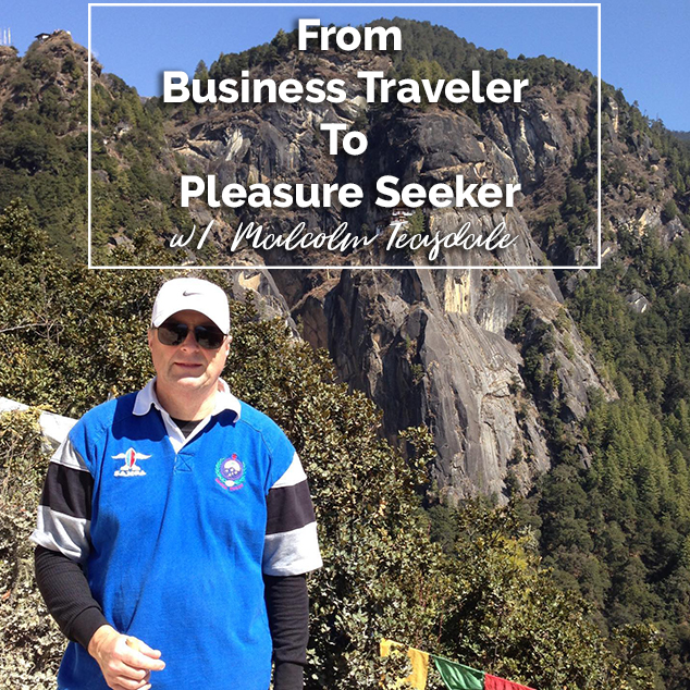 Extra Pack of Peanuts Podcast From Business Traveler To Pleasure Seeker w/ Malcolm Teasdale