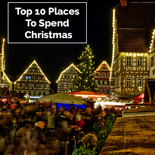 Extra Pack of Peanuts Podcast Top 10 Places To Spend Christmas
