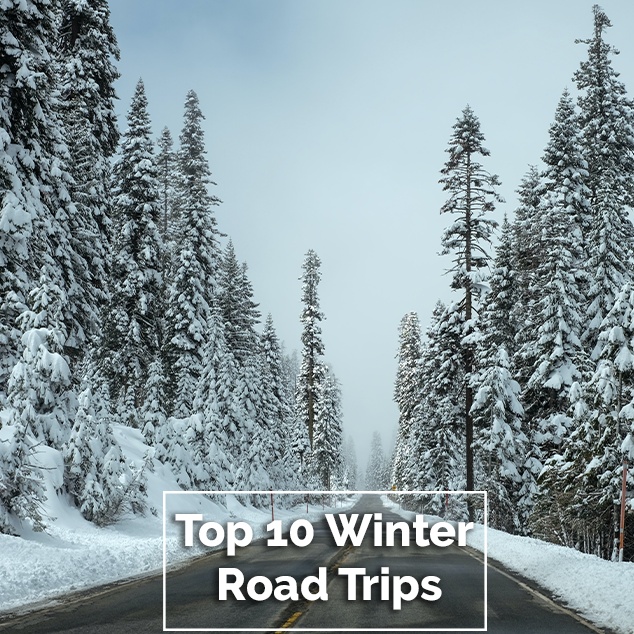 Extra Pack of Peanuts Podcast Top 10 Winter Road Trips