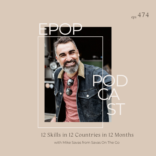 Extra Pack of Peanuts Podcast 12 Skills in 12 Countries in 12 Months w/ Mike Savas