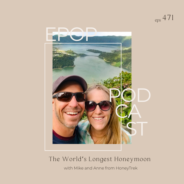 Extra Pack of Peanuts Podcast The World's Longest Honeymoon with Mike and Anne from Honeytrek